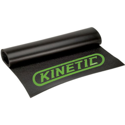 Kinetic T741 Rubber Bicycle Trainer Floor Mat Black T-741