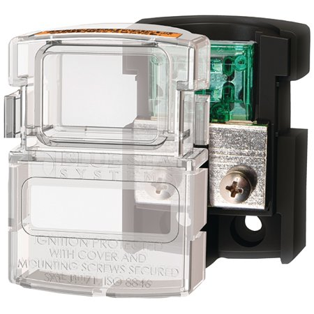 Maxi Fuse Block (Blue Sea Systems 5006100 Maxi 80A 14-4 AWG Fuse Block )