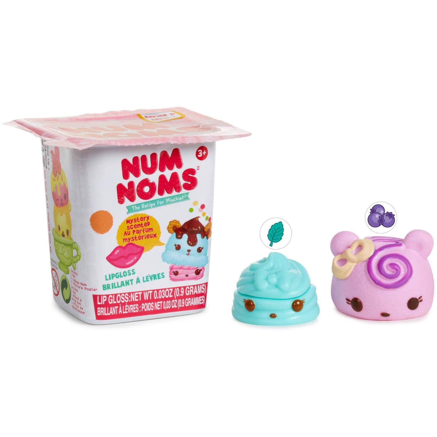 Num Noms Scented Mystery Packs Series 1, Lipgloss