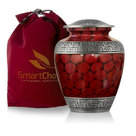 SmartChoice Royal Cremation Urn for Human Ashes - Affordable Funeral Urn Adult Urn for Ashes Handcrafted Urn (Marble Funeral Urn)