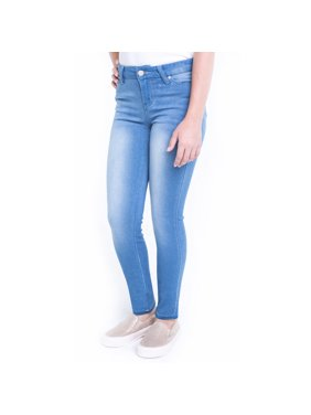 Planet Pink Super Soft Skinny Jeans (Big Girl)