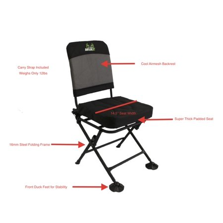 All About AntlerZ Comfort 360 Deer Turkey Hunting Blind Chair thumbnail