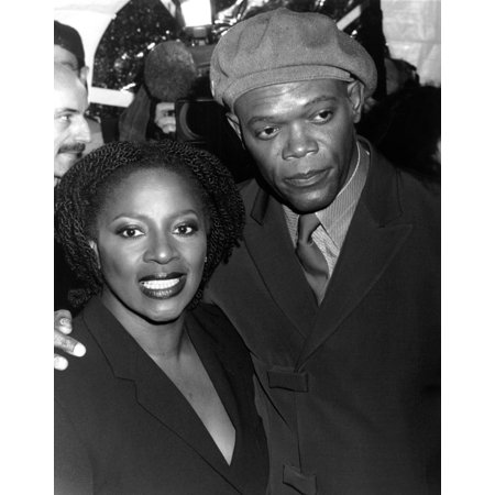 Samuel L Jackson And Wife At Shaft Premiere Ny 61200 By Cj Contino (Samuel L Jackson Hold On To Your Butts)