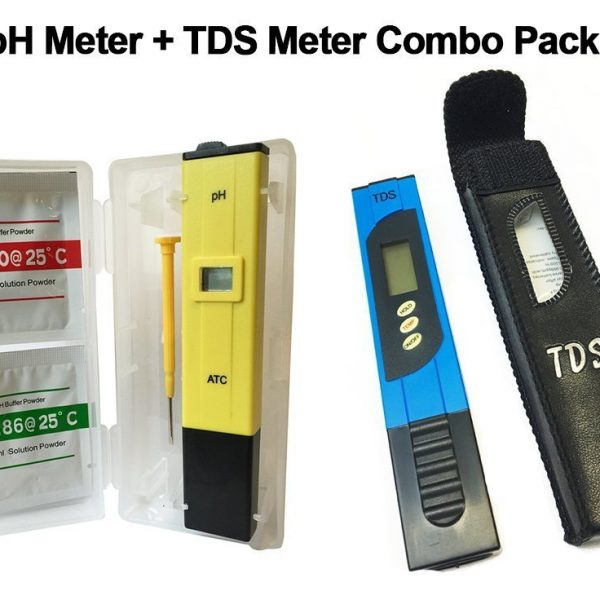 Digital pH Meter and TDS Meter Combo Set With High Accuracy by