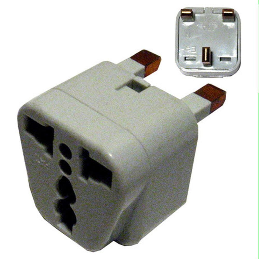 New Universal Travel Socket Wall Plug Power AC Adapter Converter EU US AU to UK