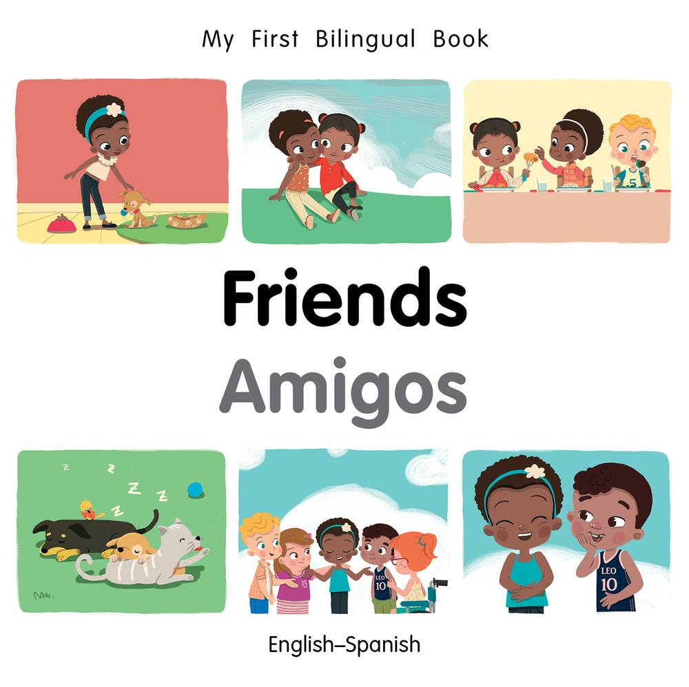 My First Bilingual Book Friends (Board Book)