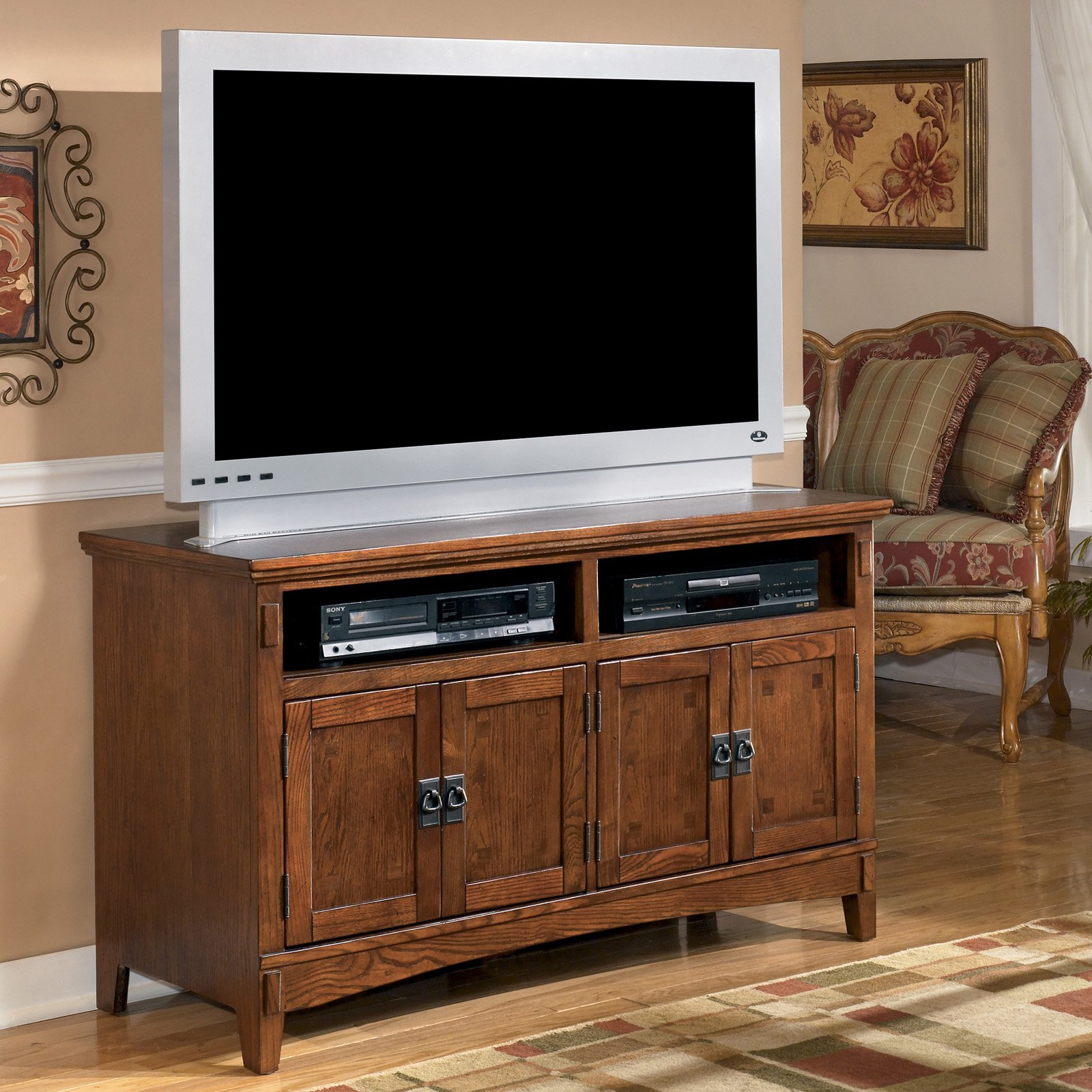Signature Design by Ashley Cross Island TV Stand