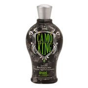 Best Bronzing Tanning Bed Lotions - Devoted Creations CAMO KING Black Bronzing Lotion Review
