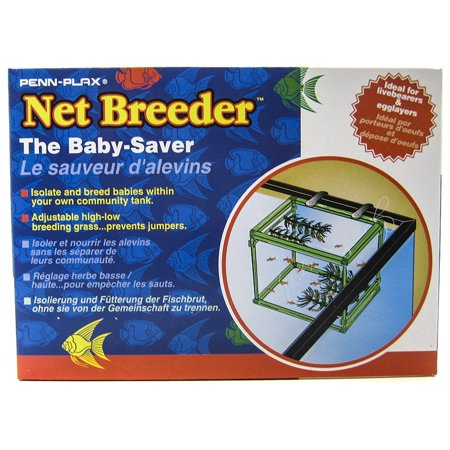 Super Breeder (Penn Plax Net Breeder with Spawning Grass Net Breeder with Spawning Grass - (5\