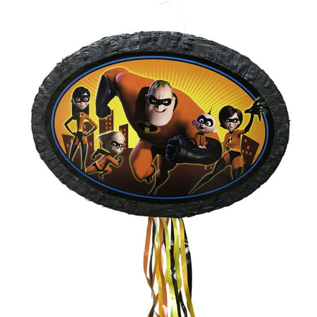 The Incredibles Pinata, Pull String, 24 x 13.5 in - 40 Pinata