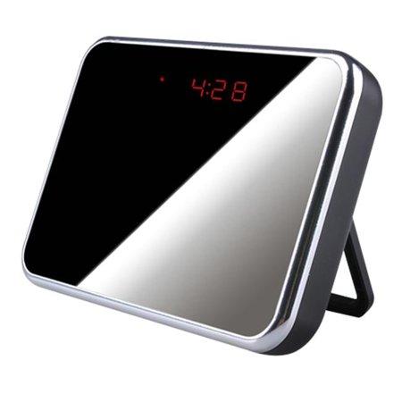 Ankaka C10805 Multifunctional R-C Alarm Clock & Motion Detection Spy DVR with High Resolution & Long Recording Time, Black