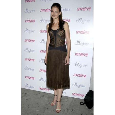 Katie Holmes At The 60Th Anniversary Party For Seventeen Magazine And Celebration Of New Film First Daughter At Marquee In Nyc On Sept 22 2004 Celebrity