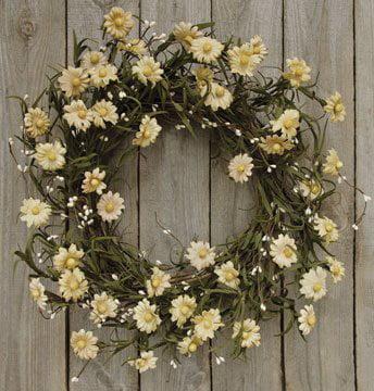 """Teastain Daisy/Pip Wreath 20""""#"""