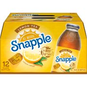 Snapple All Natural Lemon Tea, 16 Fl. Oz., 12 Count
