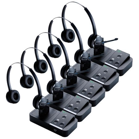 Jabra PRO 9450 Mono Wireless Headset w/ PeakStop Technology (5 Pack)