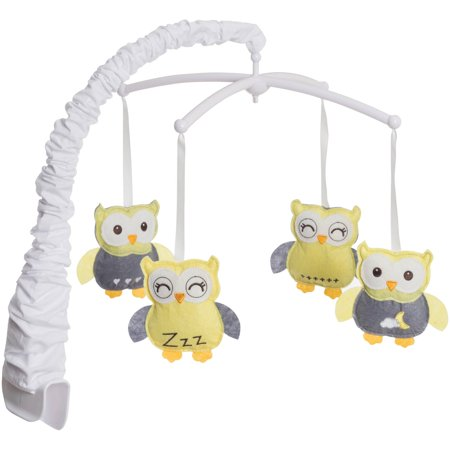 HALO Bassinest Mobile, Owls (Best Baby Mobile For Sleep)