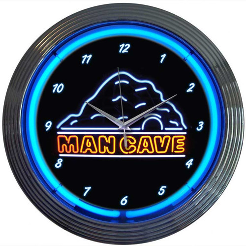 Neonetics 15'' Man Cave Wall Clock