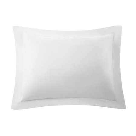 King Size Polyester Pillow Sham (Mainstays Solid Colored Soft Microfiber Pillow Sham, 1 Each )