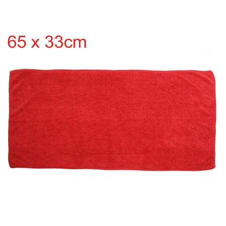 3pcs 400g/m2 65 x 33 cm Eau Multi Usage Microfibre Absorbant Serviette Nettoyage Voiture - image 3 de 7