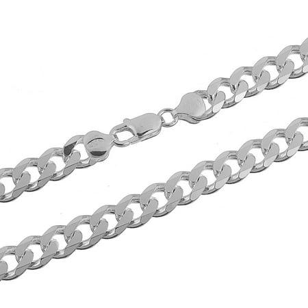 19b683ff0c9ff6 Kezef Creations - Men's 10mm 925 Sterling Silver 30