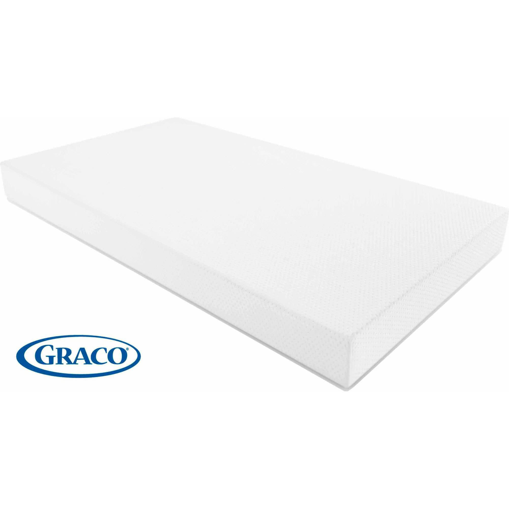 graco premium foam crib and toddler mattress - walmart