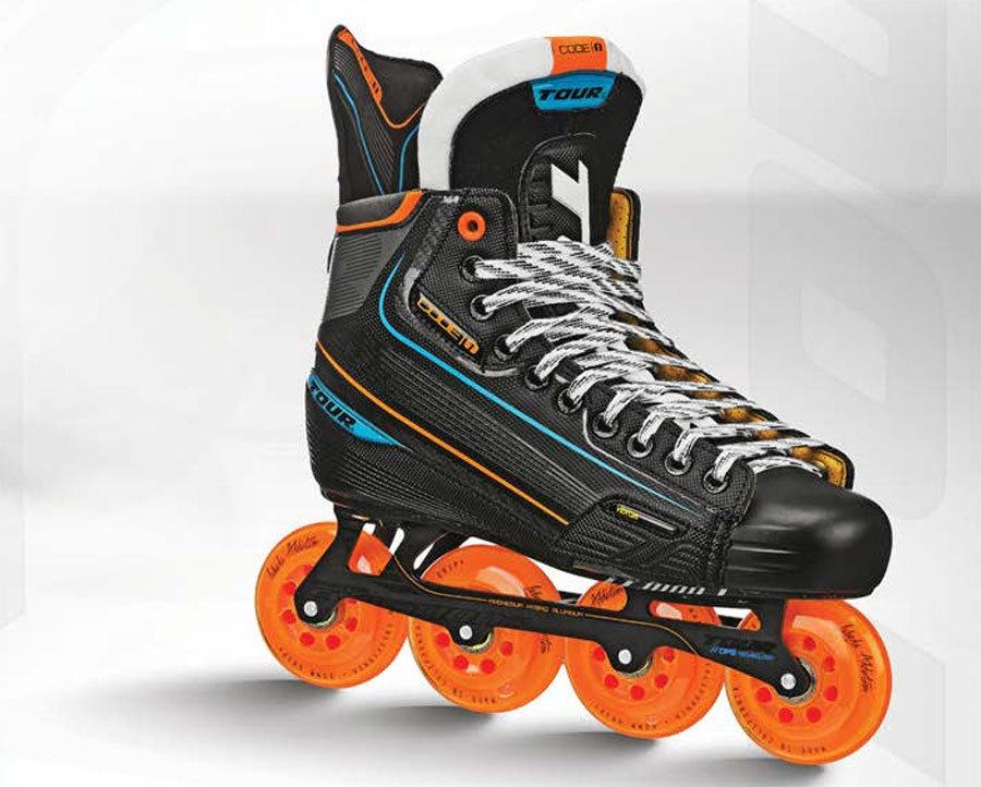 Click here to buy Tour Hockey Code 1 SENIOR Inline Hockey Skates.