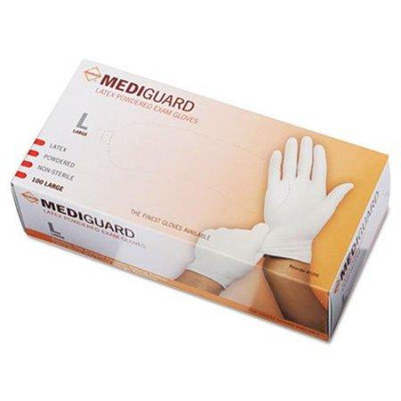 Miimg1206   Medline Mediguard Powdered Latex Exam Gloves