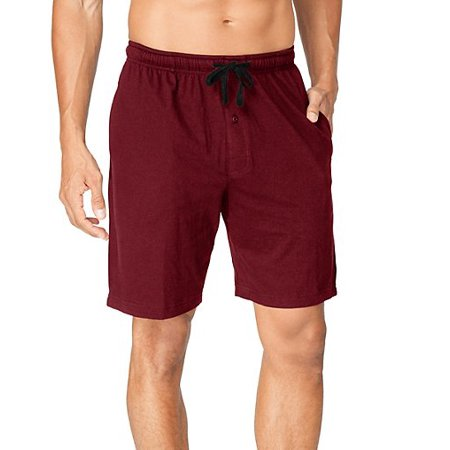 Hanes Men's and Big Men's 2-pack ComfortSoft Jersey Knit Sleep Short
