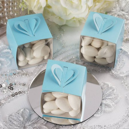 Efavormart White Color Treat Candy Box Wraps For Wedding Event Birthday Party Bridal Shower Anniversary Favor Decor Box - Bridal Shower Giveaways