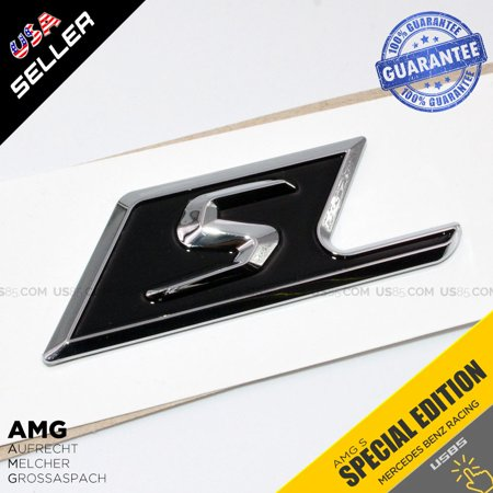 Mercedes-Benz AMG S Editon Side Trunk Sticker ABS Badge Emblem Decoration