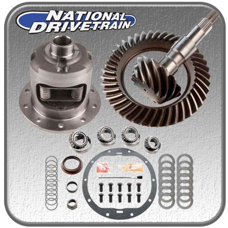 RING AND PINION, TIMKEN BEARING KIT & EATON POSI - GM 10 BOLT 8.6 1999-2008 3.73
