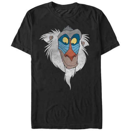 - Lion King Men's Rafiki Face T-Shirt