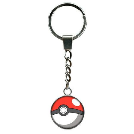 Pokémon Keychain Key Ring Anime Manga TV Comics Movies Cartoon Superhero Logo Theme Premium Quality Detailed Cosplay Jewelry Gift Series by Superheroes Brand - Superhero Keychains
