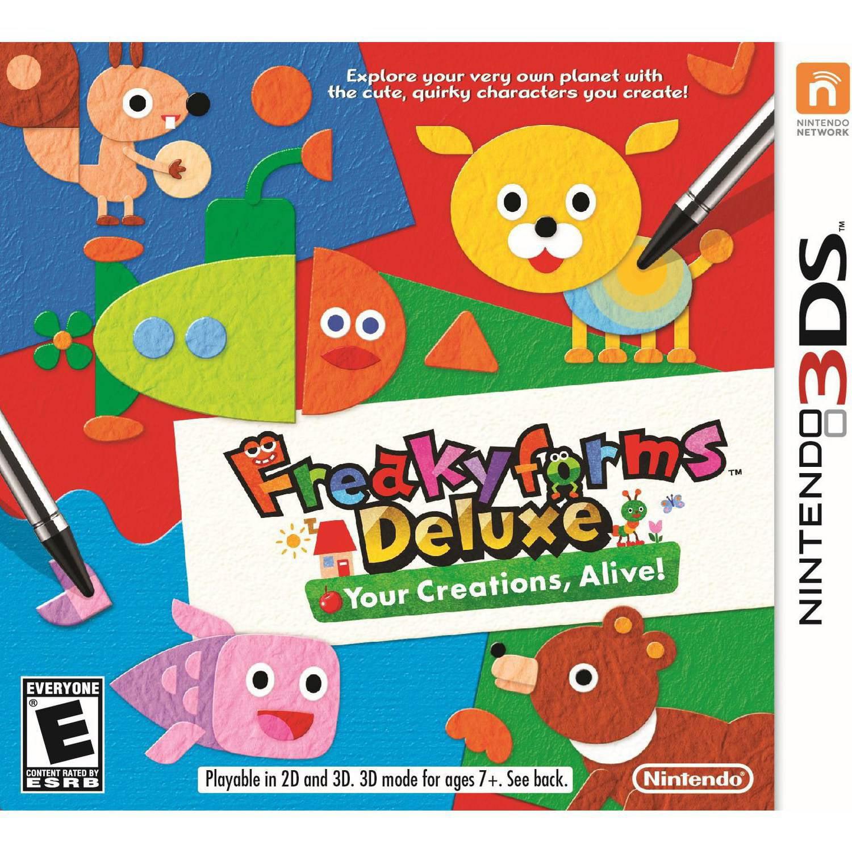 Freakyforms Deluxe:  Your Creations, Alive! - Nintendo 3DS