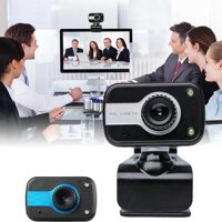 480P Webcam with Microphone USB Desktop Laptop Camera Conference Video Calling Computer Camera Flexible Rotatable Clip