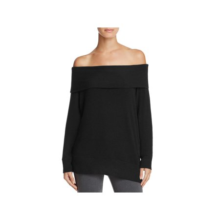 Cupcakes and Cashmere Womens Brooklyn Off-The-Shoulder Pullover Sweater