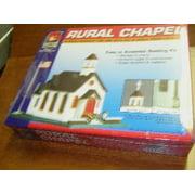 Life Like 7464 N Scale Rural Chapel Building Kit