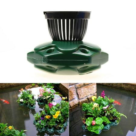 Aquaponics Floating Pond Planter Basket Kit - Hydroponic Island Gardens Features by Aquarium Supplies - Cheap Garden Supplies