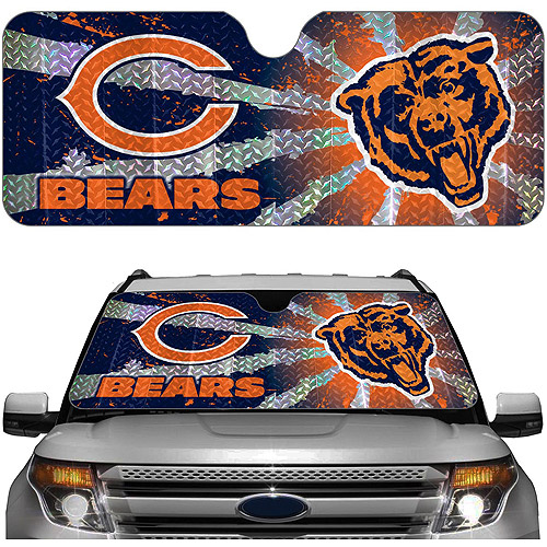 Chicago Bears NFL Auto Sunshade