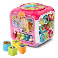 VTech Sort & Discover Activity Cube (Pink)