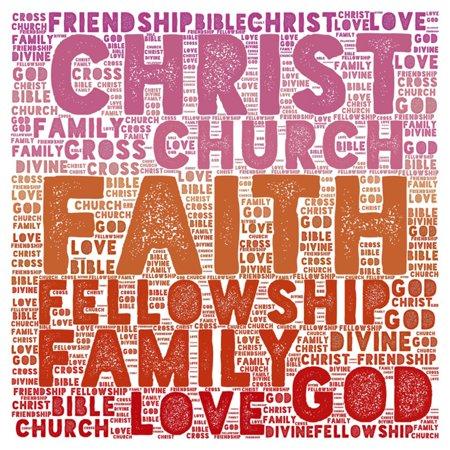 buyartforless Christ Family Love Family Church God Wall Art ...