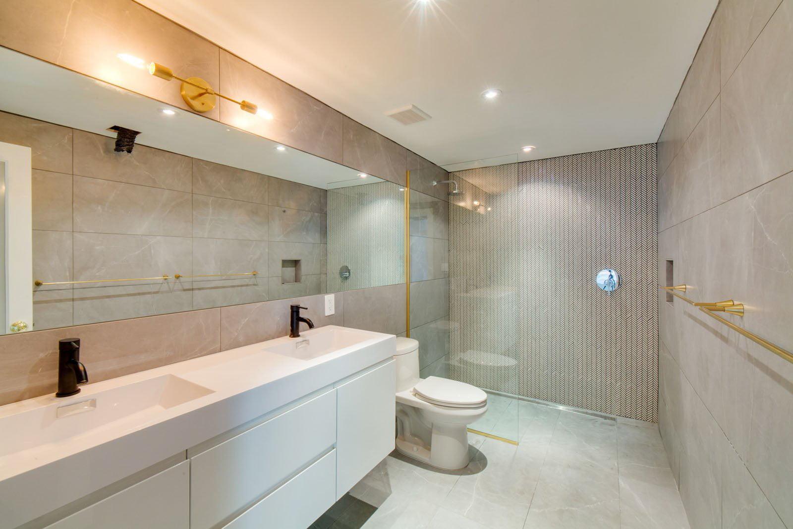 Image of: Bathroom Lights Vanity Lighting Mid Century Modern Brass Vanity Bathroom Lighting Gold Sconce Walmart Com Walmart Com
