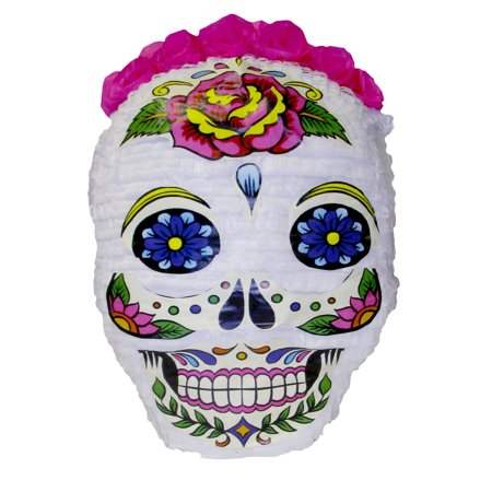 Day of the Dead Skull Halloween Pinata, 20