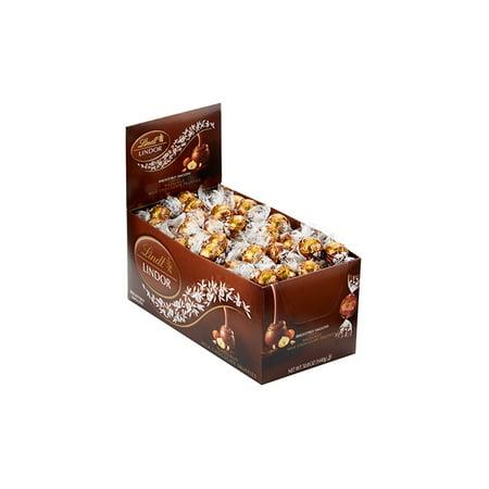 Lindor Hazelnut Milk Chocolate Truffles, 120 Count