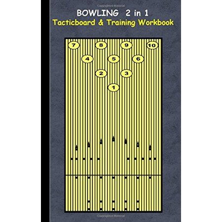 Bowling 2 in 1 Tacticboard and Training Workbook - image 1 de 1