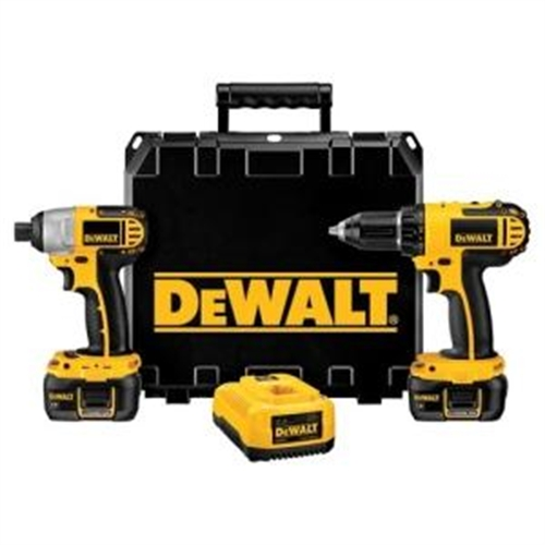 18-Volt Compact Drill/Impact Driver Combo Kit