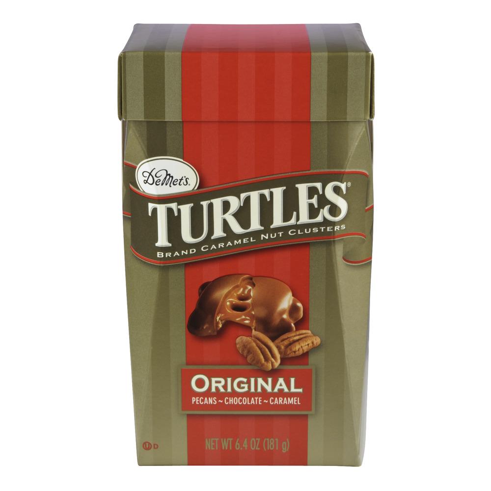 DeMet's Turtles Original Chocolate, 6.4 OZ