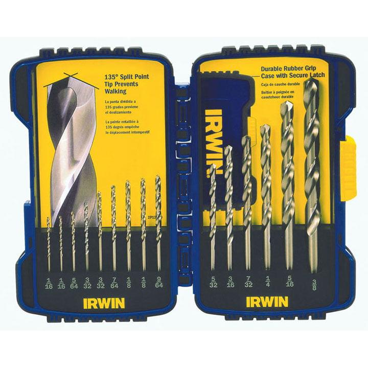Irwin 316015 15 Piece Cobalt Drill Bits