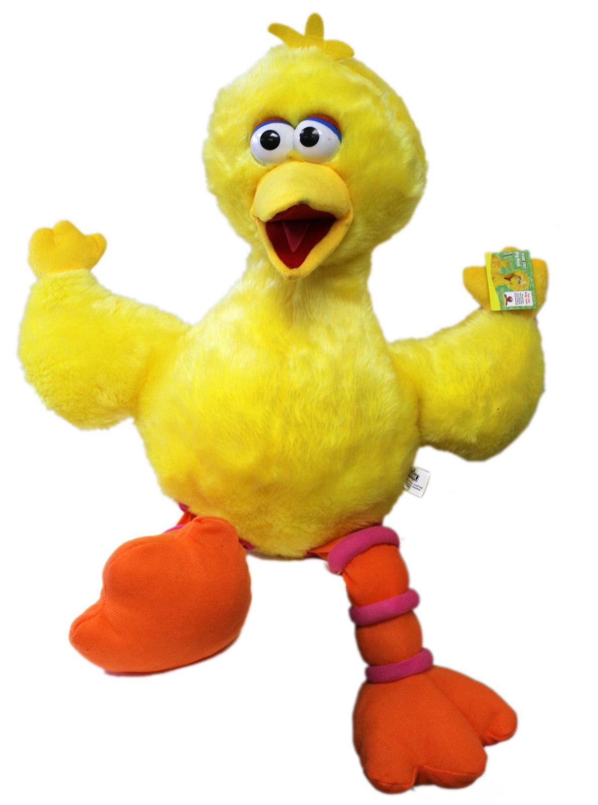 Sesame Street's Big Bird Plush Feathers w Stiff Body Kids Toy (27in) by