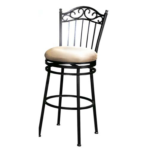 Chintaly Parma 26 In Memory Swivel Counter Stool